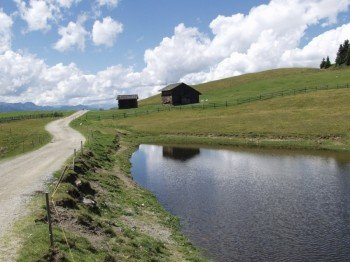 Towards the Astjoch