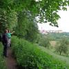 On Jagststeig trail near Kirchberg