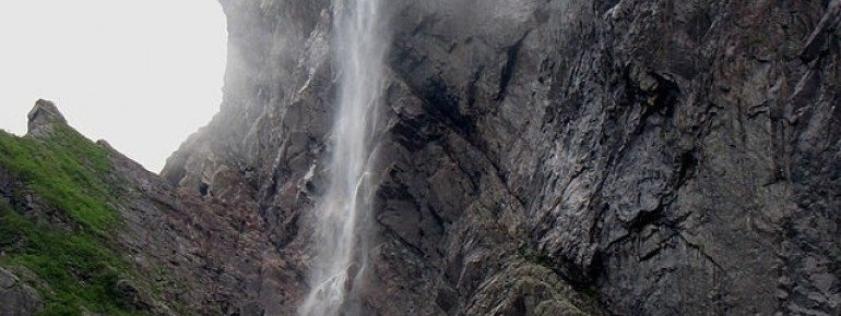 Pissing Mare Falls, Western Brook Pond