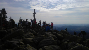 The summit cross