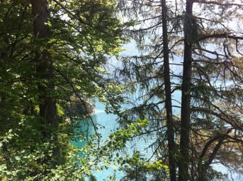 Around lake Weissensee