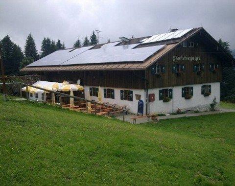 Alpine inn Oberstiegalpe - Oberstieg