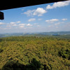 View from Bohemian Forest viewing tower.