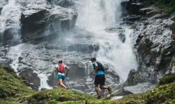 The Grawa waterfall on the WildeWasserWeg trail