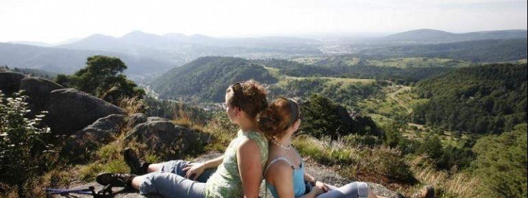 Enjoy the view from Lautenfelsen.