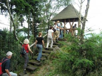 Lookout at Elsbethhütte.