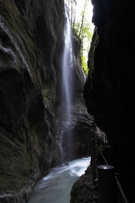 Partnachklamm gorge is truly impressive.