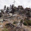 The granite blocks making up Hochstein's summit.