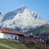 Mountain hut Tröglhütte.