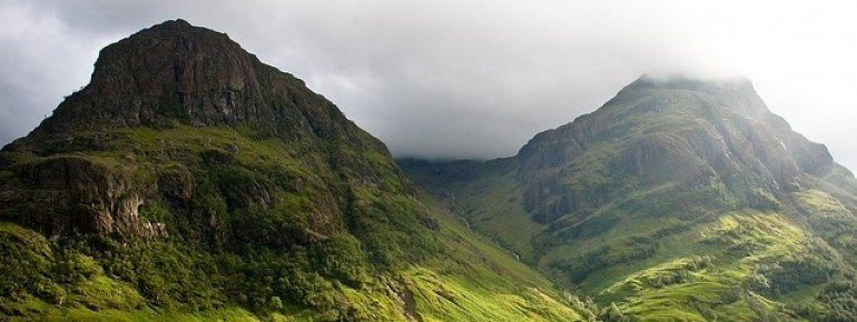 Glencoe is one of the most beautiful and famous valleys in the UK.