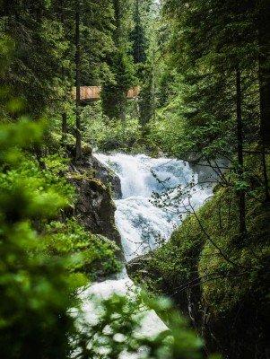 Small waterfalls and rapids gave WildeWasserWeg its name.