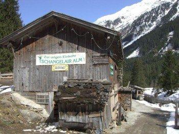 Tschangelair Alp