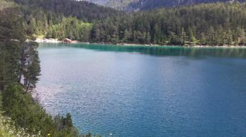 Am Blindsee bieten sich im Sommer Bademöglichkeiten.