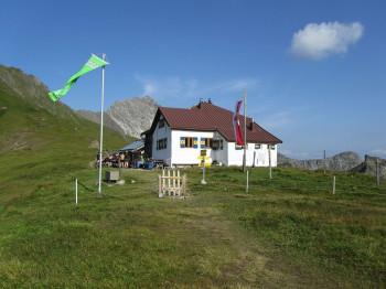 Startpunkt am Kaiserjochhaus