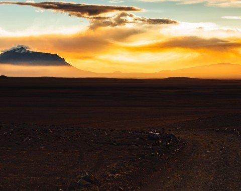Blick auf den Mt. Herðubreið