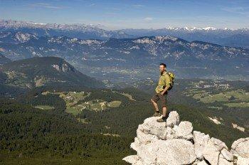 Panoramaaussicht vom Weißhorn