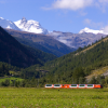 Immer die Matterhorn Gotthard Bahn im Blick