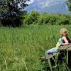Am Ruggeller Riet kannst du Halt machen und die Natur genießen.