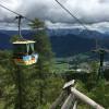 Den steilen Anstieg von Bad Ischl auf den Berg Katrin kannst du mit der Seilbahn abkürzen.