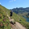 vorbei am herrlich gelegenen Giglachsee