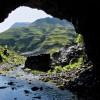 Taurins Höhle zwischen Stierlochkopf und Gstüt-Alpe.