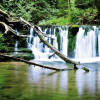 Der Wasserfall in der Wutachschlucht