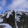 Gipfelkreuz auf dem Hohen Riffler