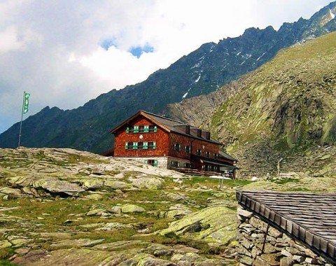 Das Endziel: die Zittauer Hütte