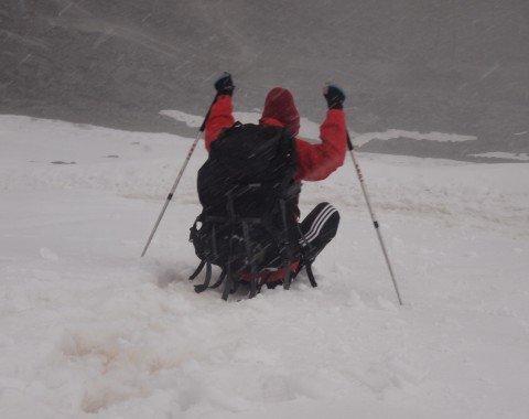 Mit Schneesicherheit glänzt der Rettenbacher Gletscher auf knapp 3000m Höhe