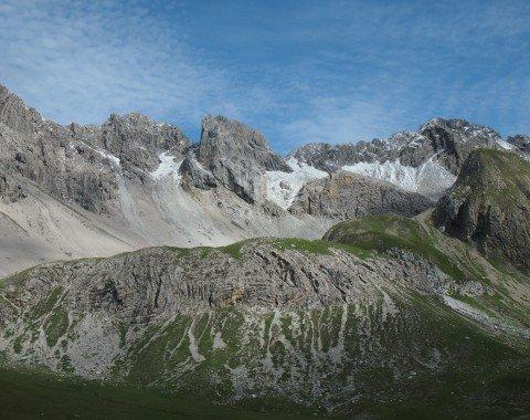Die schönen Lechtaler Alpen von der Memminger Hütte aus