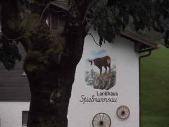 Die letzte Einkehrmöglichkeit vor der Kemptner Hütte befindet sich in Spielmannsau