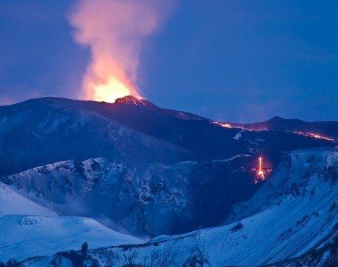 Ausbruch des Eyjafjallajökull Vulkan 2010