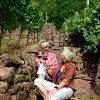 Verkostung direkt am Weingut