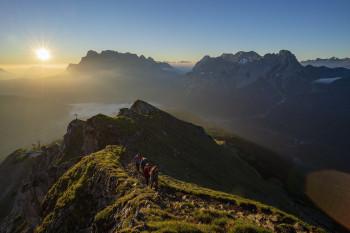 Die Tour ist nur für geübte, trittsichere und schwindelfreie Bergsteiger zu empfehlen.