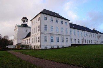 Blick auf das Schloss Gråsten