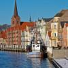 Die Hafenpromenade von Sønderborg
