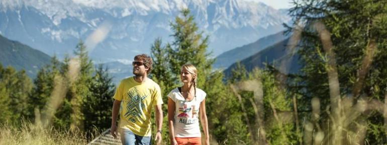 Die Genusswanderung Stubaier Jungrind in Mieders ist 4,8 Kilometer lang.