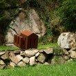 Ein Kunstwerk im Reichenbachtal