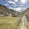 Der Weg von der Ursprungalm zu den Giglachseen