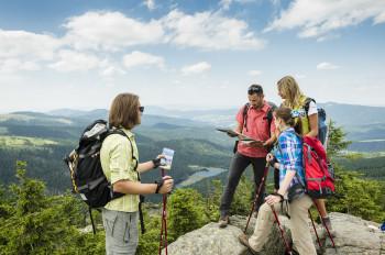 Entdecke die Flusstäler und Waldlandschaften des Bayerischen und Oberpfälzer Waldes!