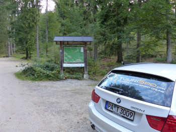 Wanderparkplatz Rißlochfälle in Bodenmais