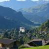 Aussicht von Bissen nach Gstaad