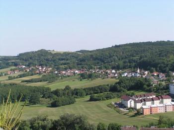 Ausblick auf den Bezirk von Güssing