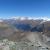 Blick von der Hörnlihütte auf die umliegenden Berge und das Dort Zermatt