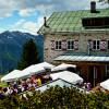 In der Bielefelder Hütte kannst du auch übernachten.