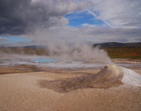Das Geothermalgebiet um Hveravellir
