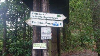 An allen Zwischenstationen in Fischhaus, Kalteneck und an der Schrottenbaummühle kann die Wanderung begonnen und beendet werden
