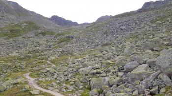 Der Aufstieg ist angenehm zu bewältigen und wird nur die letzten Meter etwas steiler.