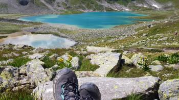 Unbedingt Zeit für ausgiebige Pausen einplanen, um die Landschaft zu genießen.