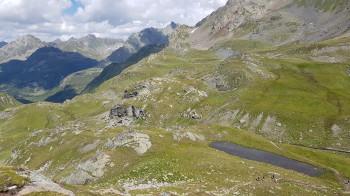 Der Abstieg ins Vereinatal ist eine Alternative zur Rundtour (siehe Variante).